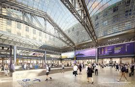 newark penn station floor plan revealed governor cuomo unveils plans for new penn station