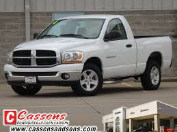 white dodge truck dodge ram 1500 2006 white truck slt gasoline 8 cylinders