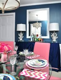 blue and pink dining room furbish studio dining rooms