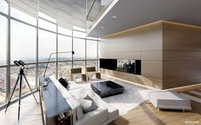 penthouse luxury apartments shown by ando studio interior