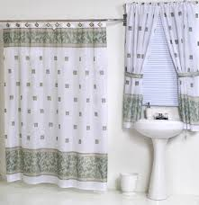 windsor jade green fabric shower curtain u0026 matching window curtain