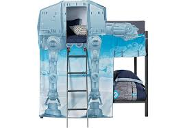 Star Wars ATAT Walker Gray Twin Twin Bunk Bed BunkLoft Beds Colors - Star wars bunk bed