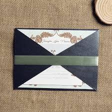 Pocket Wedding Invites Vintage Wallet Design Pocket Wedding Invitations Inps120 Inps120