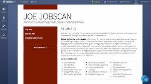 free resume builder and save resume builders jobscan visualcv