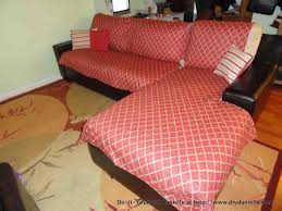How To Make Slipcover For Sectional Sofa Covers A House Into Home Creating On Budget Let Me