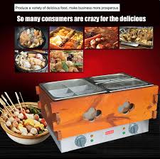 cuisine equip pas cher 2pc commercial 3 cylinder 14 frames electric kanto cooking machine