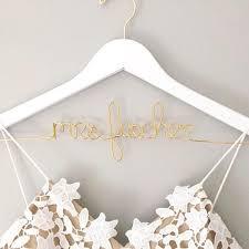 wedding dress hanger personalized wedding dress hangers foxblossom co