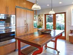 kitchen butcher block islands with seating banquette bath