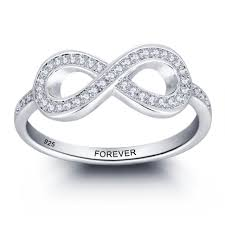 Wedding Rings For Her by Wedding Rings Infinity Symbol Rings Infinity Promise Rings For