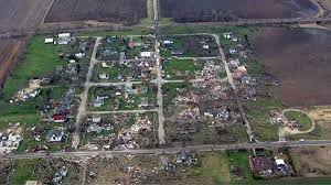 Illinois Tornado Map by Aftermath Photos Show Widespread Destruction After Tornado Tears