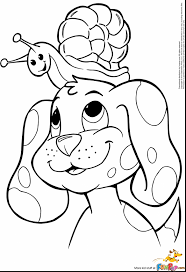 unbelievable printable dog coloring pages kid with dog coloring