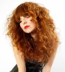 casual shaggy hairstyles done with curlingwands a long red wavy coloured shaggy messy hairstyle by short cuts like