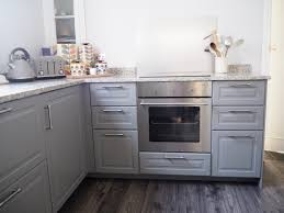 grey ikea kitchen dining room makeover the result