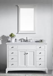 48 In Bathroom Vanity With Top 20 Worth It White Single Bathroom Vanity For Your Home If You Want
