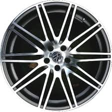 20 audi rims aly98639 200051 audi q7 wheel charcoal machined 4l0071490