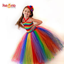 aliexpress com buy keenomommy girls couture rainbow tutu dress