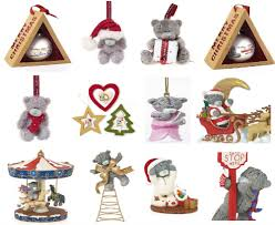 teddy decorations me to you christmas decorations tree and ornaments tatty