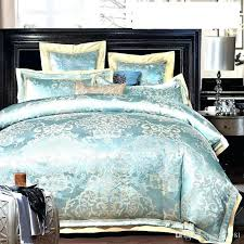 Teal King Size Comforter Sets 10 Piece Satin Teal Black Flocked Comforter Set Queen Size In Home