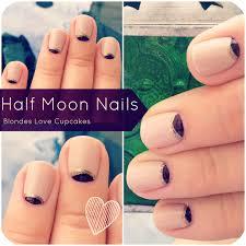 half moon nail design tutorial image collections nail art designs