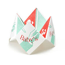 what to write on a paper fortune teller baby s future fortune teller baby shower game new baby baby s future fortune teller 1 thumbnail