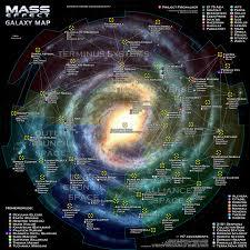 Map Of Mass Mass Effect Galaxy Map By Otvert On Deviantart