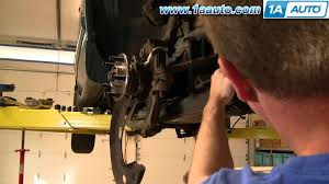 how to install replace steering tie rod ford explorer ranger