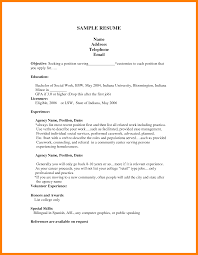 Teacher Job Resume Format 10 Cv Template For First Job Rn Cover Letter