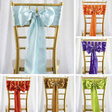 Chair Sashes Coral Chair Sashes Venue Decorations Ebay