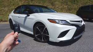 toyota camry test drive 2018 toyota camry xse start up test drive walkaround and review
