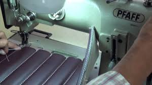 on top stitches foamed channels pleats upholstery basics youtube