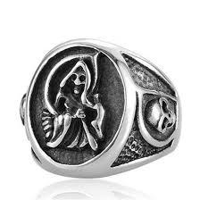 steel skull rings images Sons of anarchy ring stainless steel skull ring for men jpg