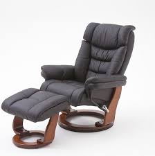 Relaxer Chair Genuine Leather Dining Chairs Toronto Relaxer Chair In Black