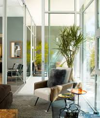 living room plants living room modern with rug manufactured wood