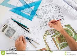 architect with blueprints royalty free stock images image 34803309 architect