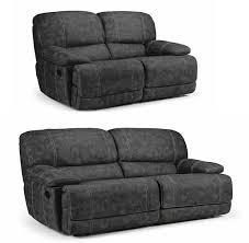 Recliner Sofa Suite 2 Leather Air Recliner Sofa Suite Sofas Direct