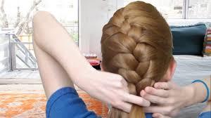 cute braided hairstyles for medium length pinterest