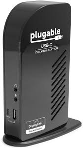 plugable usb c triple display docking station with amazon co uk