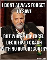What Is A Meme Exle - excel crashes locks or stops responding opening certain files