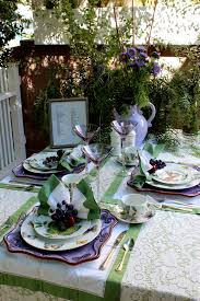 Garden Table Decor Home Tour Part Ii The Tables Taste With The Eyes