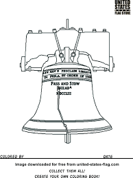 liberty bell coloring page glum me