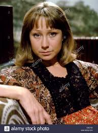 felicity kendal hairstyle felicity kendal the good life 1975 stock photo royalty free