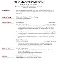 Resume Builder Lifehacker Resume Recommended Font For Resume