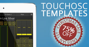 ableton launchpad touchosc templates