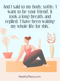 quotes about letting go yoga quotes on eating disorders quotes insight healthyplace