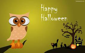 cute halloween owl wallpaper