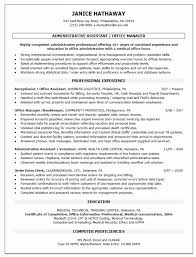 Health Information Management Resume Sample by Resume Samples For Office Manager Samples Of Resumes