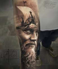 tattoo portraits on arm jaw dropping face morph tattoos by arlo dicristina kickass things