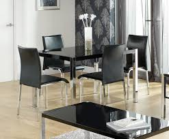 Modern Kitchen Tables by Black Kitchen Table Set Spelonca Contemporary Black Kitchen Table