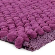 tapis de cuisine violet tapis violet coton polyester 85x55cm bulle tapis cuisine tapis