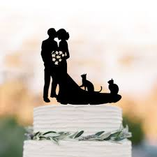 cat wedding cake topper best cat wedding cake topper products on wanelo